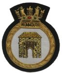 MONMOUTH- Blazer Badge~OFFICIALLY LICENCED PRODUCT